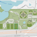 Map of miller park.